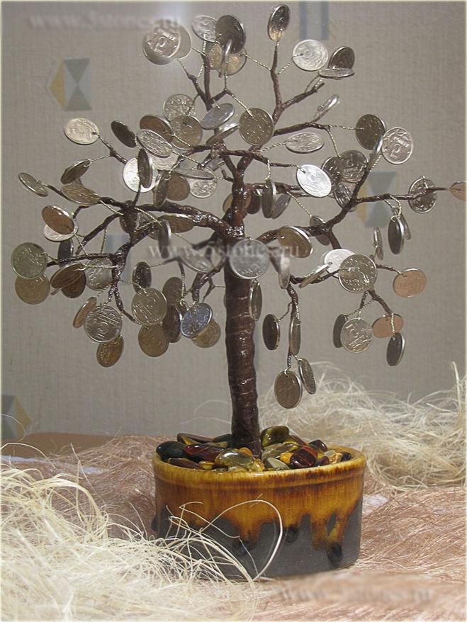 укушенные денежное дерево своими руками из монет фото там много