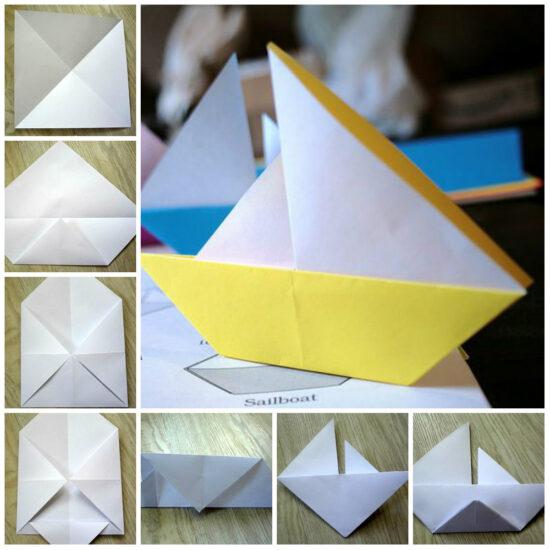 Как сделать кораблик из газеты своими руками